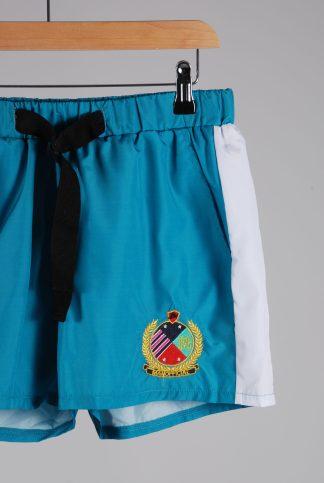Boohoo MAN Green Swim Shorts - Size M - Front Detail