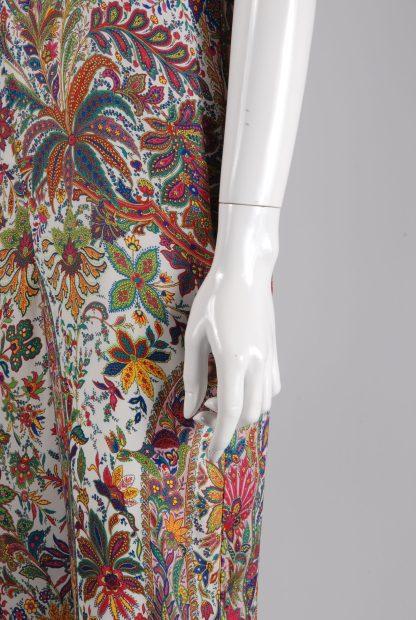 Zara Strappy Floral Jumpsuit - Size M - Side Detail