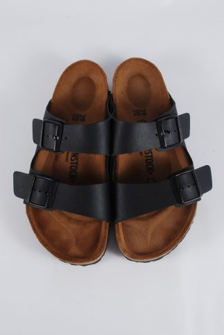 Birkenstock Arizona Black Sandals - Size 6 - Front Detail