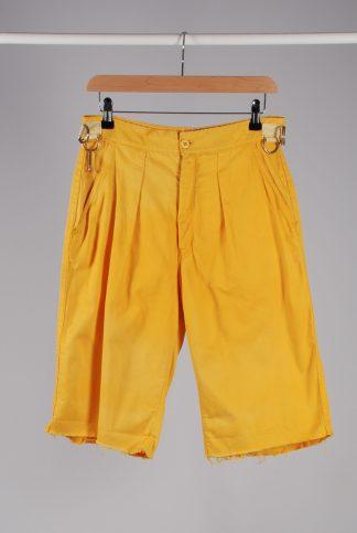 Hoofer Yellow Hiking Shorts - Size 10 - Front