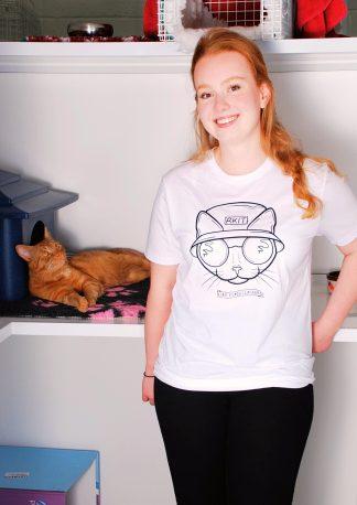 Purr-Aid 2021 T-Shirt - Liam Miaowllagher - Model