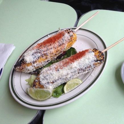 Cafe Habana's infamous corn.