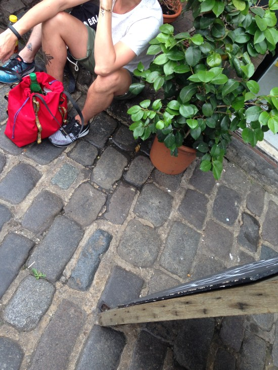 Cobbles, ceramics, plants and flyknits.