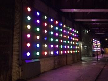Follow the lights.