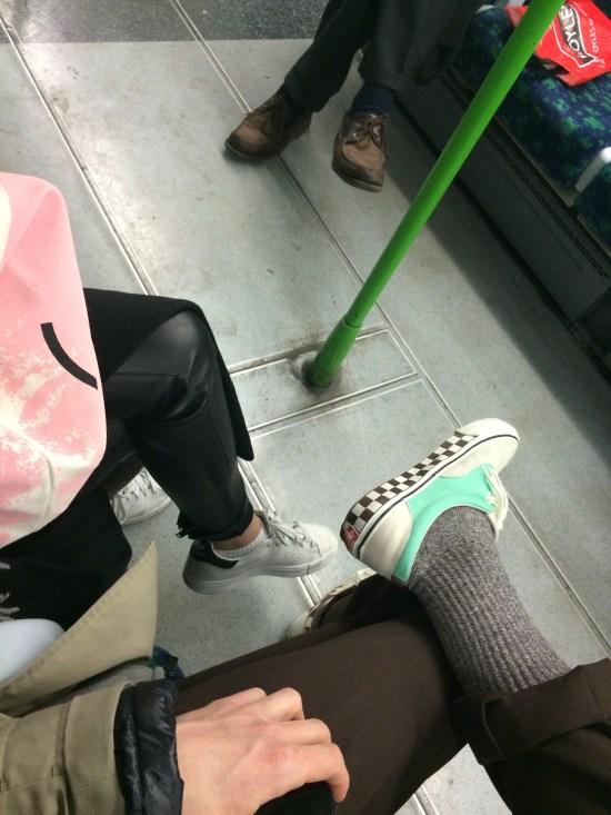 Underground cruising with Daisy.