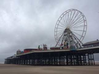 Blackpool in the Spring.