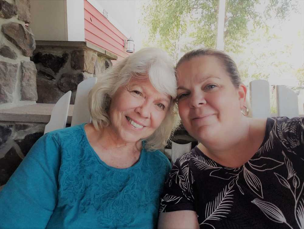My beautiful mother and I. She is a wanderluster from way back and passed on the travel gene to me. Now, at 76, dementia has stolen her independence and ability to travel.