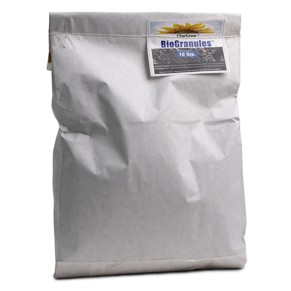 CharGrow BioGranules 10LB bag