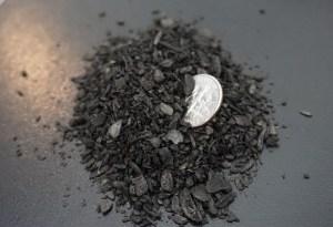 biochar prime size compare dime