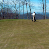 golf course conventional spreading equipment