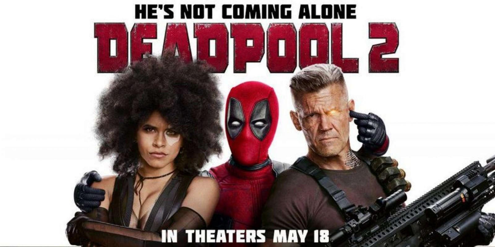 Movie, Deadpool 2(美國) / 死侍2(台.中.港), 電影海報, 美國, 橫版
