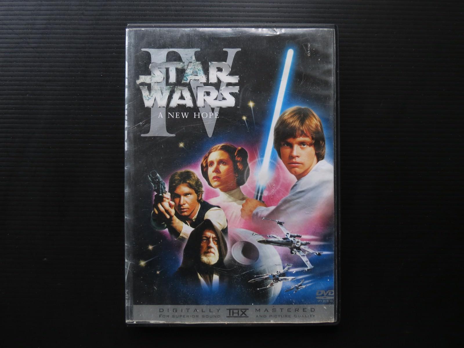 Movie, Star Wars Episode IV: A New Hope(美國, 1977) / 星際大戰四部曲:曙光乍現(台灣) / 星球大战IV:新希望(中國) / 星球大戰:新的希望(香港), 電影DVD