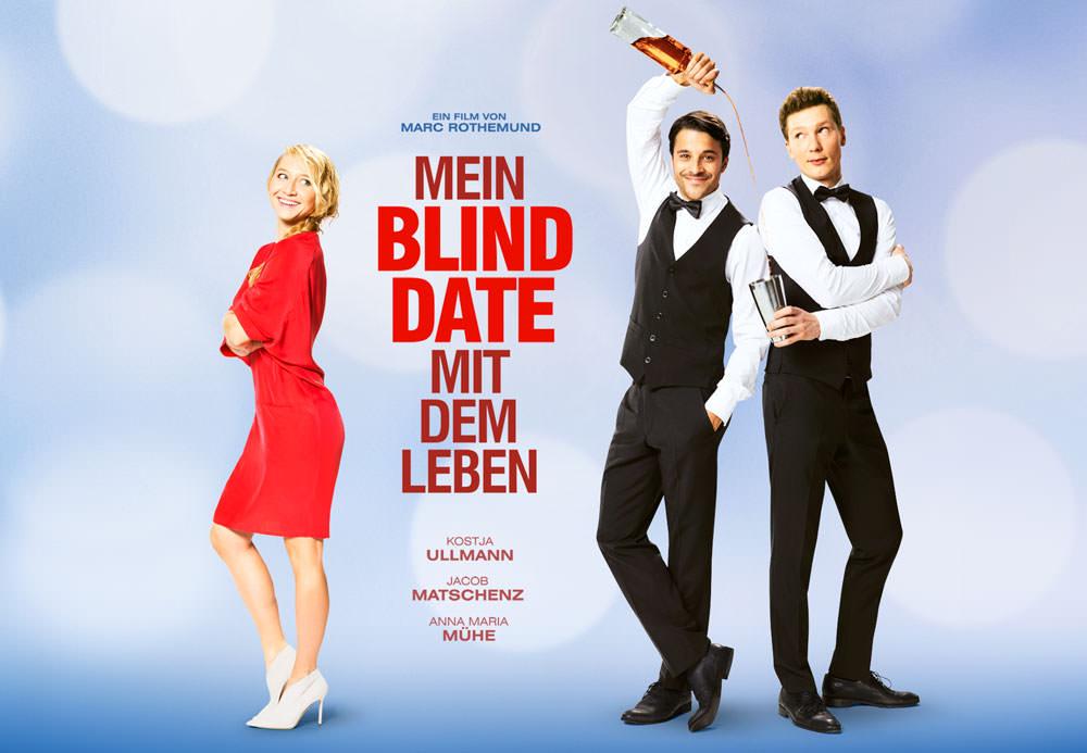 Movie, Mein Blind Date mit dem Leben(德國, 2017年) / 看見5%的奇蹟(台灣) / 尋找快樂的盲點(香港) / My Blind Date With Life(英文) / 与生命有约(網路), 電影海報, 德國, 橫版