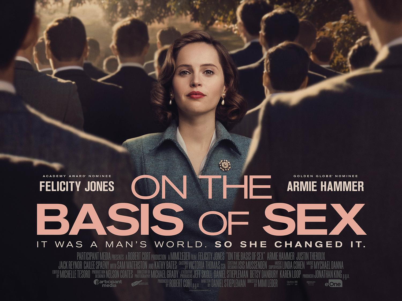 Movie, On the Basis of Sex(美國, 2018年) / 法律女王(台灣) / 司法女王(香港) / 性别为本(網路), 電影海報, 美國, 橫版