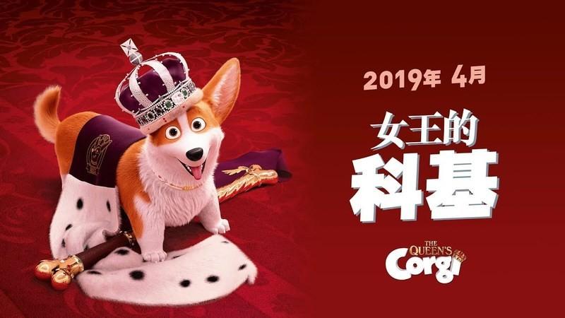 Movie, The Queen's Corgi(比利時, 2019年) / 女王的柯基(台灣) / 女皇哥基大冒險(香港), 電影海報, 台灣, 橫版