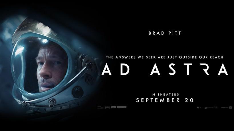 Movie, Ad Astra(美國, 2019年) / 星際救援(台灣) / 星际探索(中國) / 星際任務(香港), 電影海報, 美國, 橫版