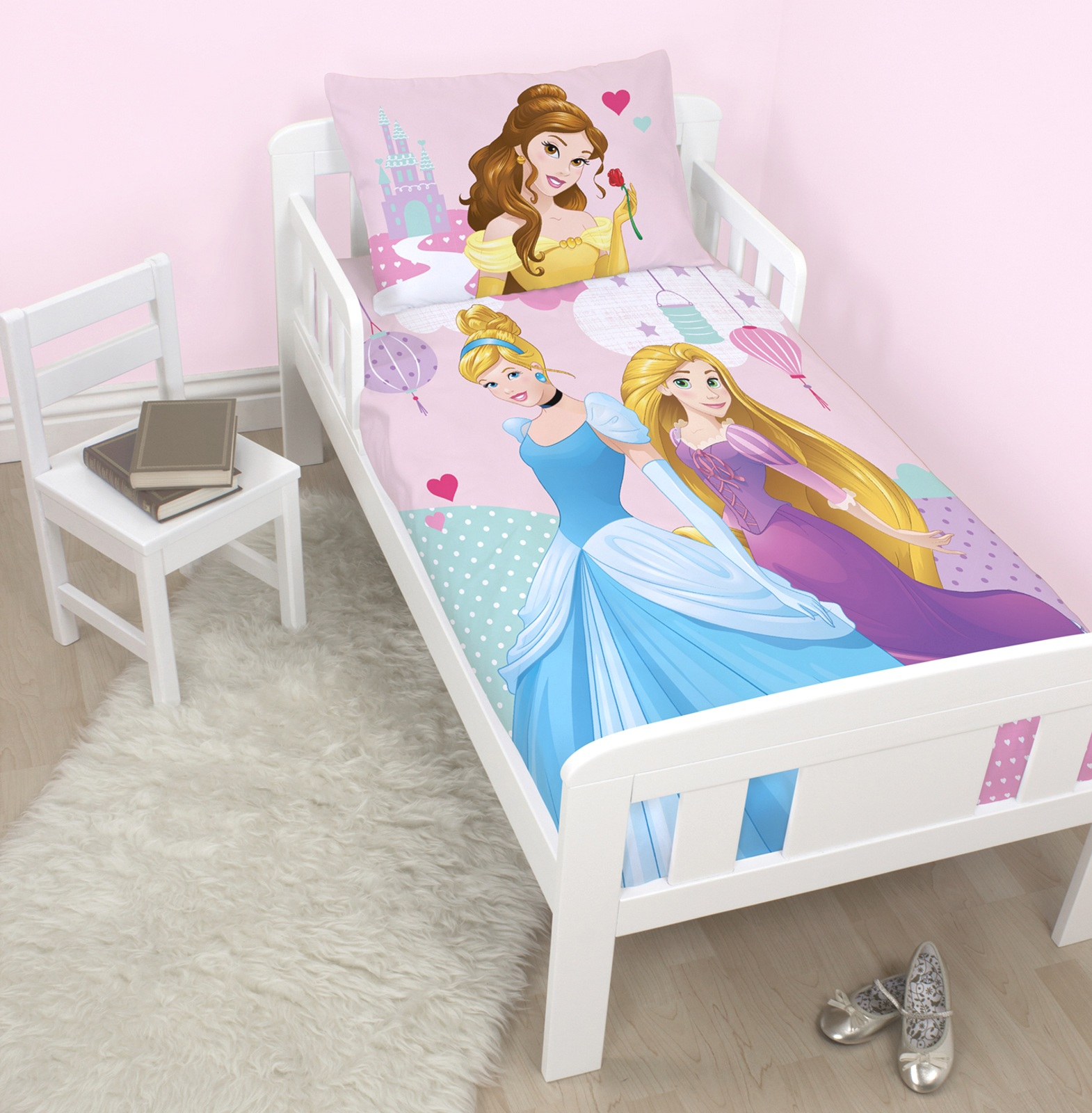 DISNEY PRINCESS ENCHANTEUR JUNIOR ENSEMBLE DE HOUSSE DE
