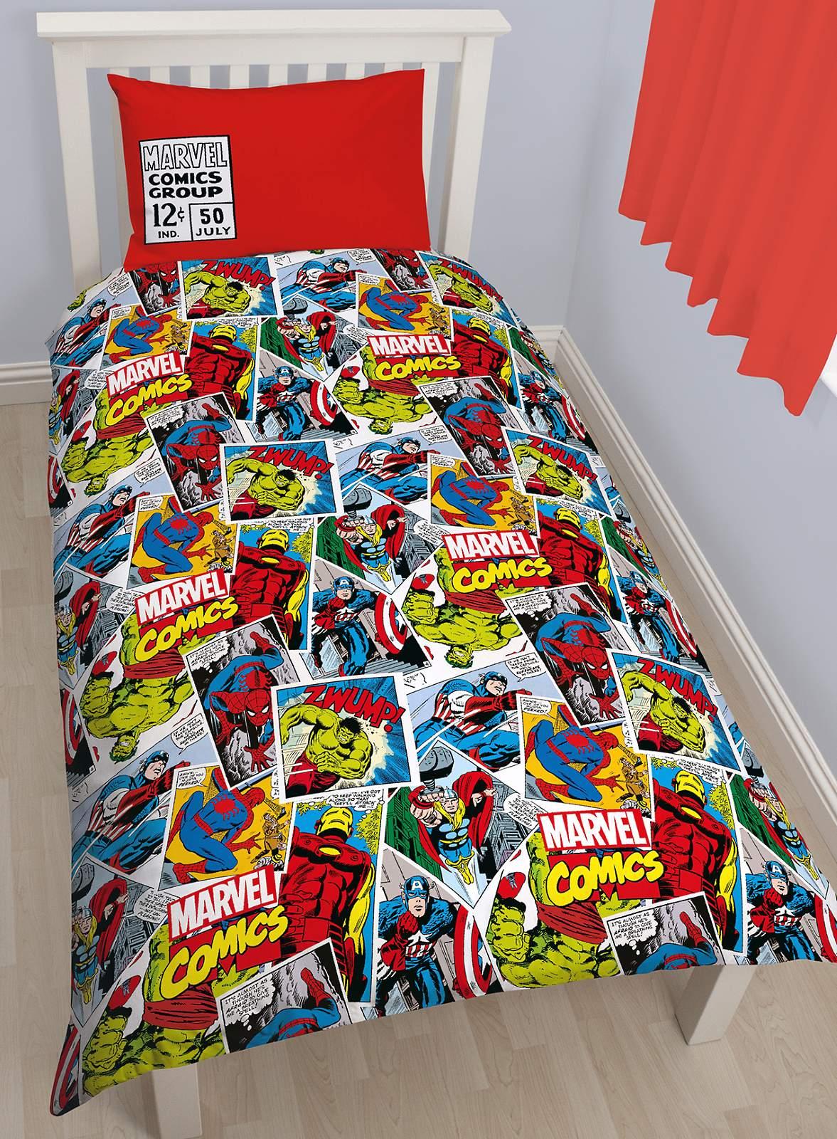 Marvel Avengers BD Simple Ensemble Housse DE Couette