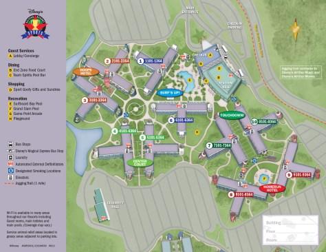 50707ae1ace0 All Star Sports Resort Map - KennythePirate.com