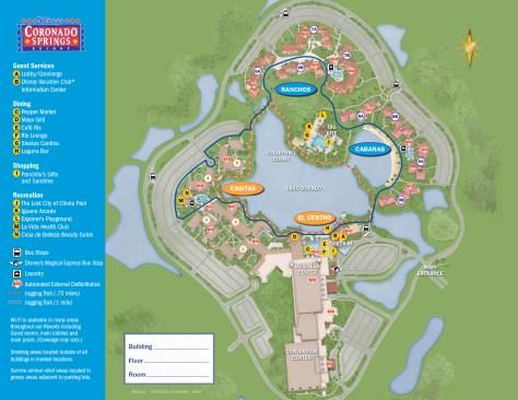 Coronado Springs Resort Map Coronado Springs Resort Map   KennythePirate.com Coronado Springs Resort Map