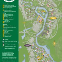 Port Orleans Riverside Resort Map
