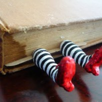 Witch bookmark © noooitaremybirthday
