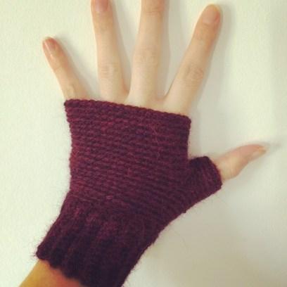 Handschoentjes paars