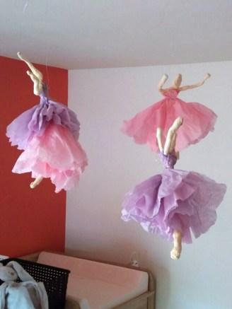 Papieren ballerina's 04