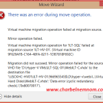 There was an error during move operation: Data error (cyclic redundancy check) ('0x80070017')