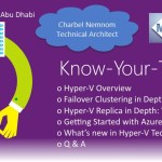 Announcing The 3rd Know-Your-Tech Session Focused on Hyper-V #HyperV #Microsoft