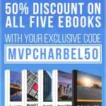 50% On All Five eBooks With Exclusive #MVP PromoCode For You! @PacktPub #MVPbuzz
