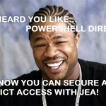 Step by Step: Secure and Control a PowerShell Direct Session with Just Enough Administration #HyperV #PowerShell #JEA