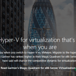 New VMware Migration Offer for Windows Server 2016 #HyperV #WS2016
