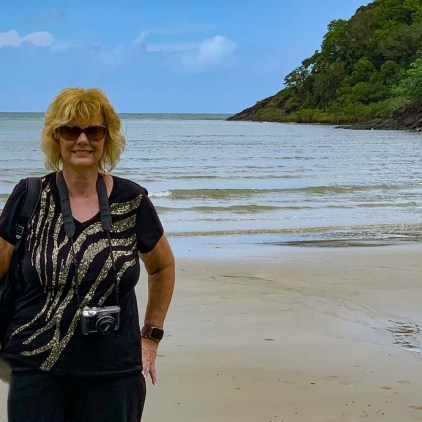 Elaine in the Daintree, Tropical Region, Australia