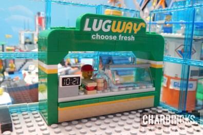 Custom MOC Lego Subway Sandwich by CharBricks charlotteslego