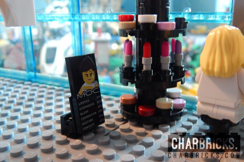 Custom MOC Lego Makeup Cosmetics by CharBricks charlotteslego