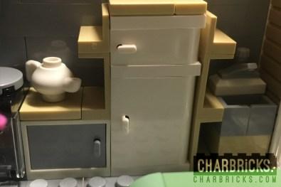 Custom MOC Lego Modular Kitchen by CharBricks charlotteslego