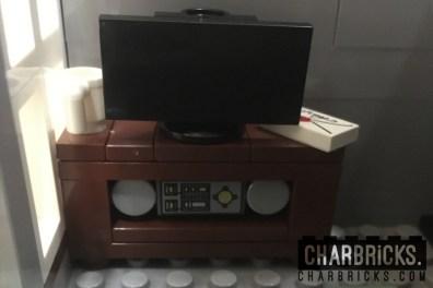 Custom MOC Lego TV by CharBricks charlotteslego