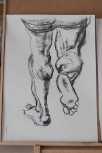Copy of Peter Paul Reubens, Studies of Arms and Legs