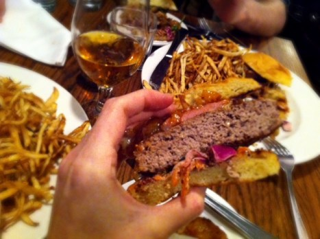 Bistro 7 1/4 Burger