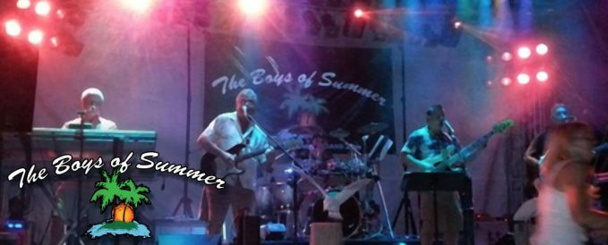 The Boys of Summer at the Charcoal Corral Summer Concert Series