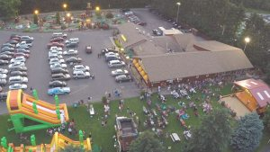 Overhead Shot - Golf, Stage Events, and GIANT Inflatables