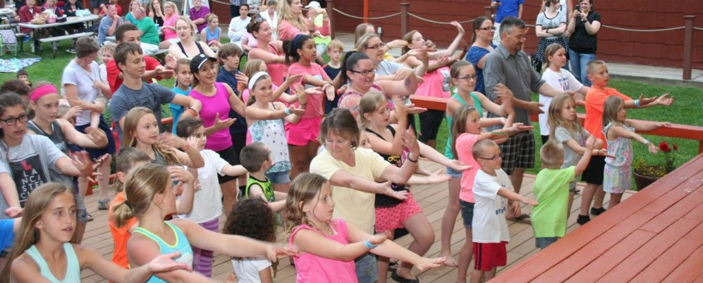 Stage Activities - Macarena