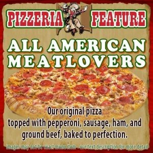 All American Meatlovers Pizza