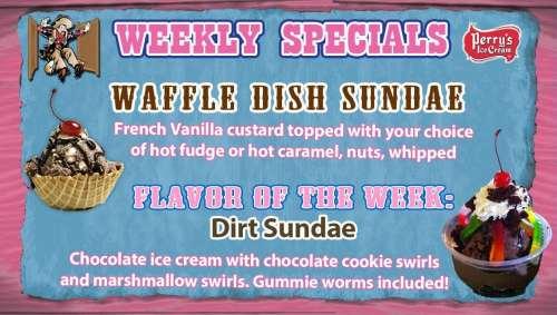 TV-Ice-wk15-Waffle-Dish-w-Dirt-Sundae