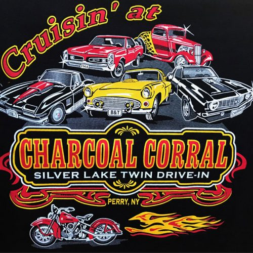 Cruisin' at the Charcoal Corral & Silver Lake Twin Drive-In