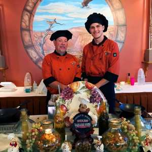 Pasta Chefs at our All You Can Eat Pasta Buffet - Wednesday Evenings