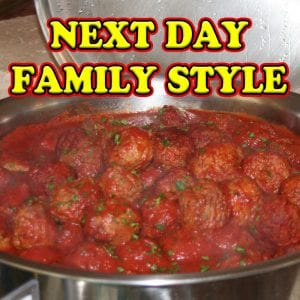 Next Day Family Style Catering