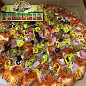 Charcoal Corral Pizzeria - Lots O' Toppin's