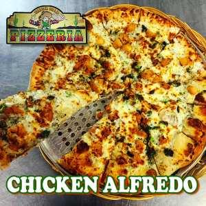Chicken Alfredo - Corral Pizzeria Feature